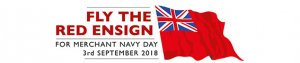 Fly the Red Ensign for Merchant Navy Day