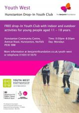 Free Drop In Youth Club